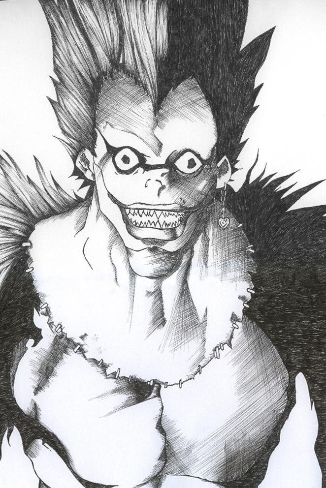 Ryuk Deathnote by Mikyo