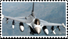 F-16 Fighting Falcon Stamp by Anti-Bumblebee