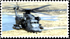 MH-53 Helicopter Stamp by Anti-Bumblebee