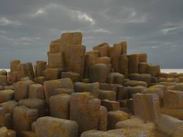 Pillar mountains by Misstock