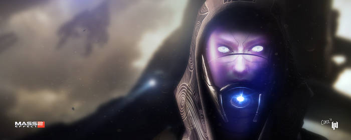 lm. The Tali Reveal (Mass Effect 2) by lightmares