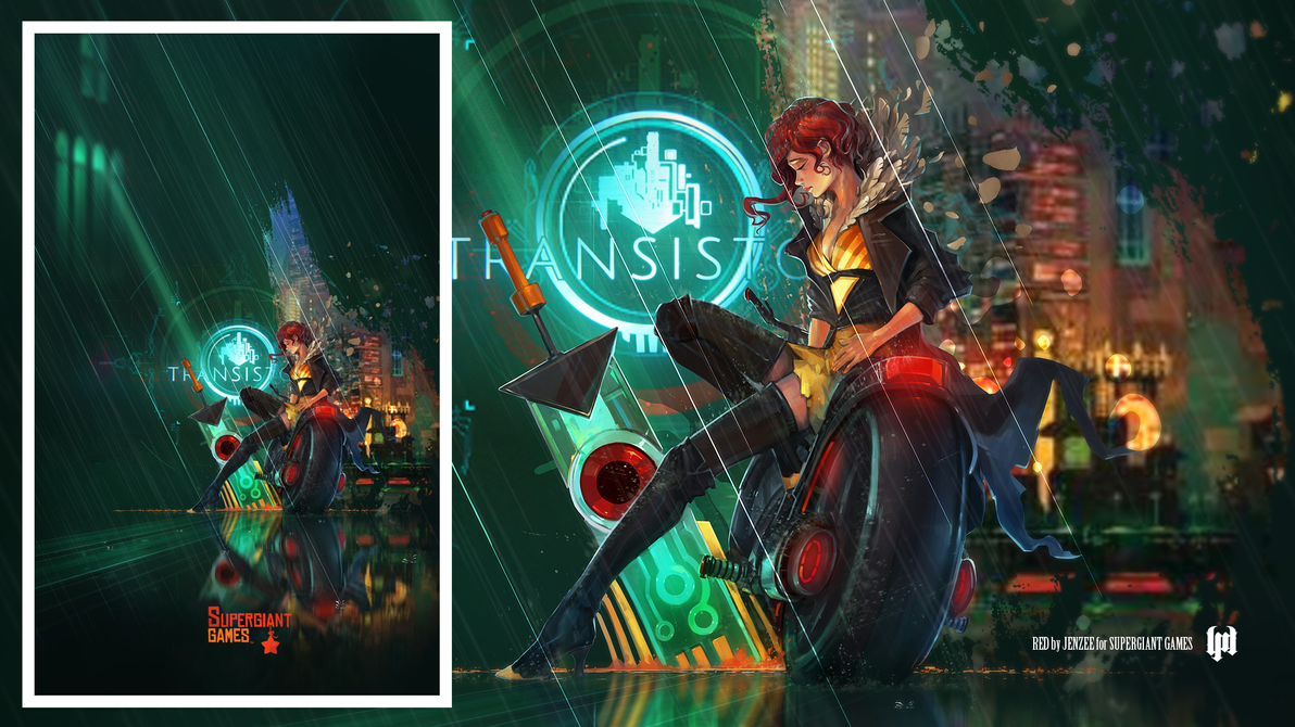 Transistor - Red in the Rain by lightmares
