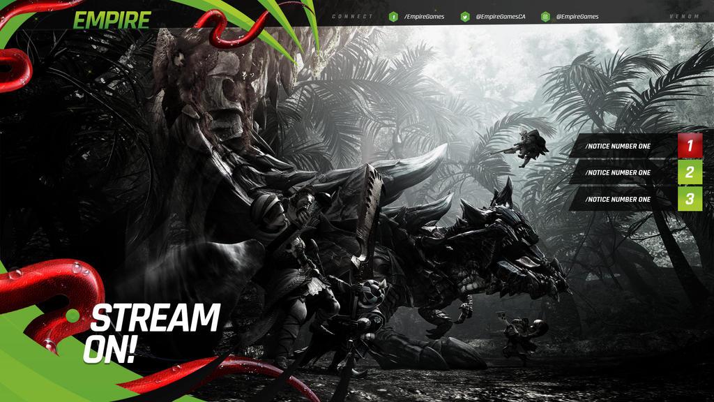 Venom Stream Overlay Pack by lightmares