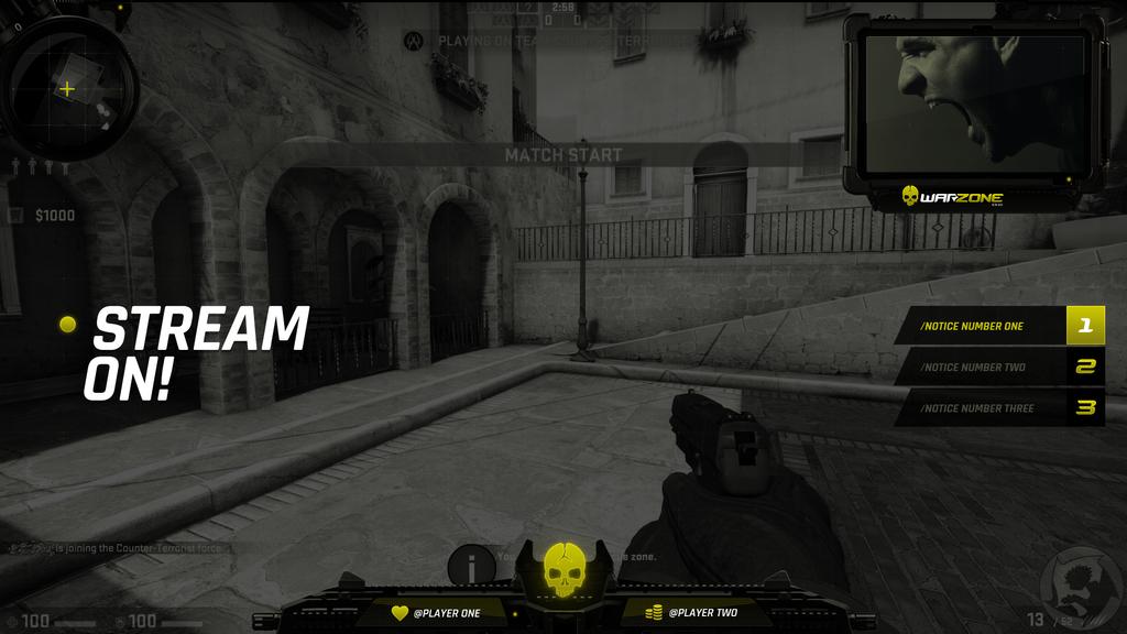 EmpireGames Stream Overlay Pack Warzone:CSGO by lightmares
