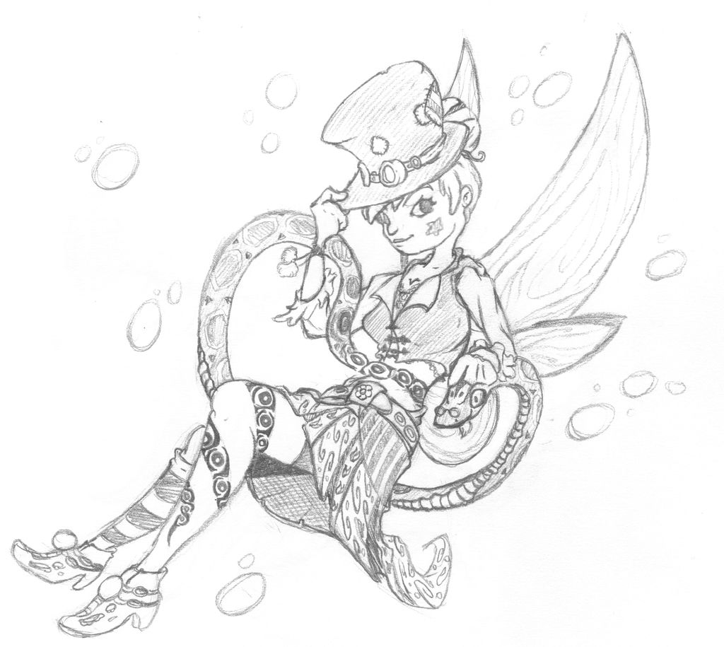 Day 29 - Steampunk Tinkerbell