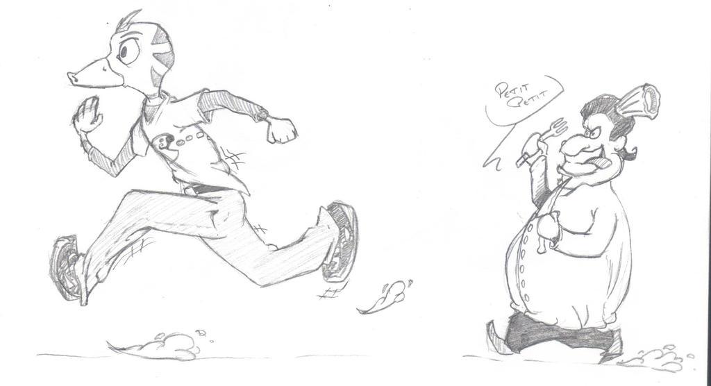 Day 43 - Run duck RUUUUUUN