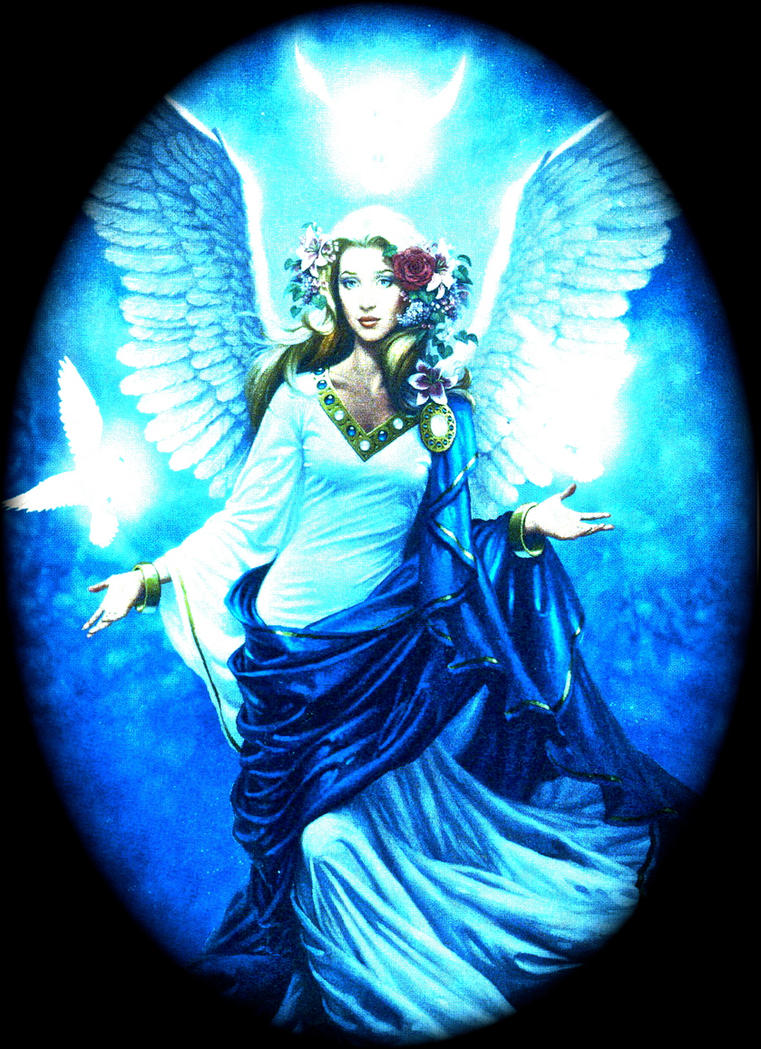 The Feminine Angel of Catholicism by Goldilockes