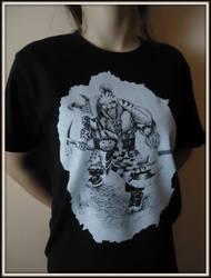 Trollslayer T-shirt 2 by BobBobuszko