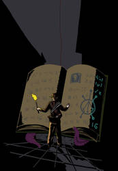 Mysterious Tome by BobBobuszko