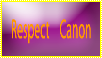 - Stamp: Respect Canon - by lbawtw