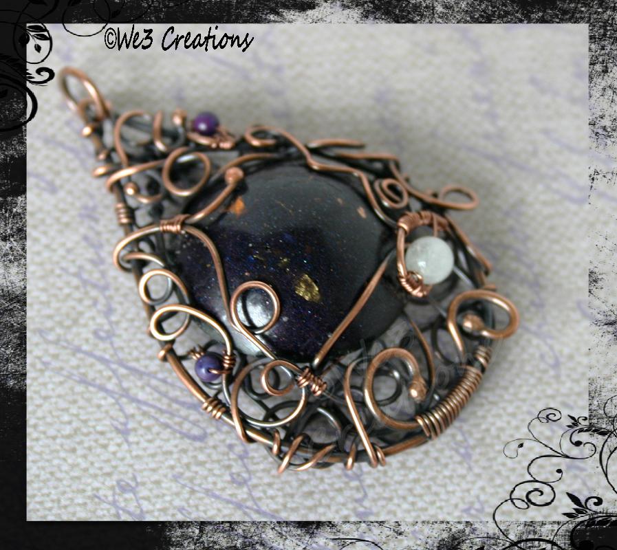 Hestia Copper Pendant by kelleejm1