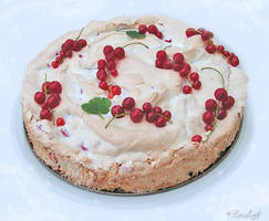 Red Currant Cake by BaziKotek