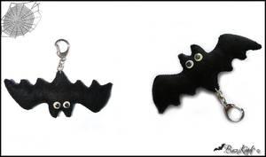Bat Keychain by BaziKotek