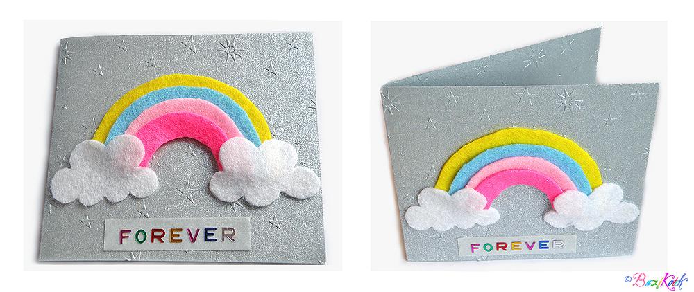 Rainbow Postcard by BaziKotek