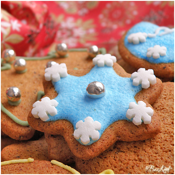 Gingerbread Cookies by BaziKotek