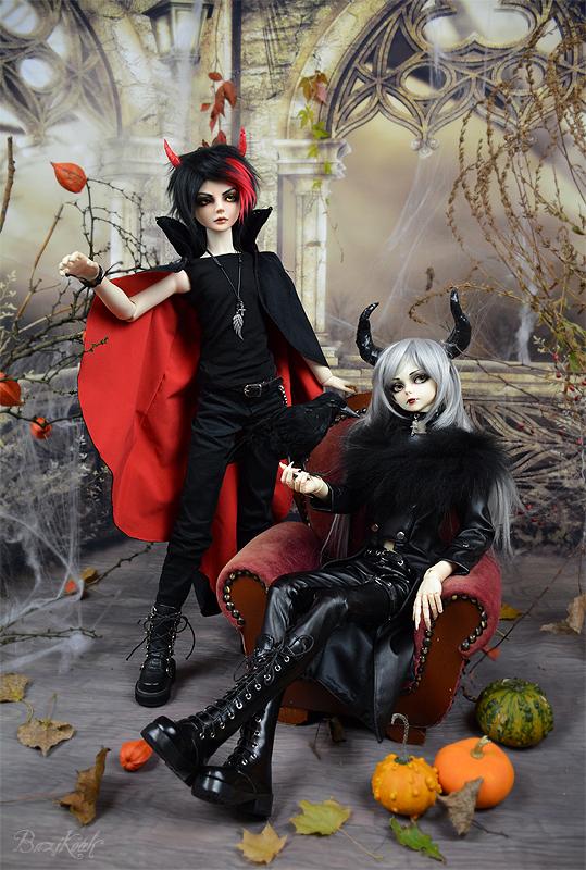 Halloween Devil and Demon by BaziKotek