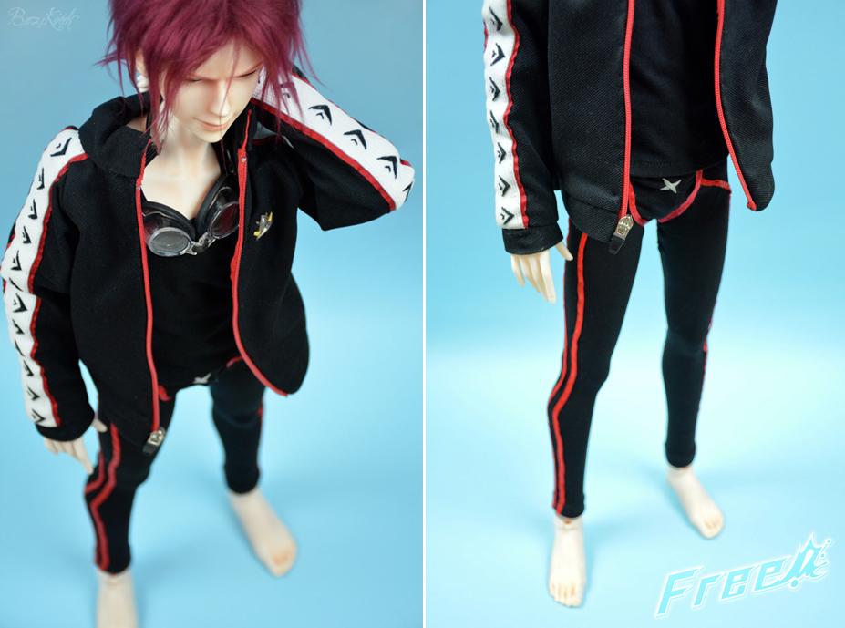 Rin Matsuoka outfit commission by BaziKotek