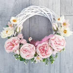 Spring wreath by BaziKotek