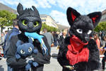 Toothless Suit - Fish from my Wolf!