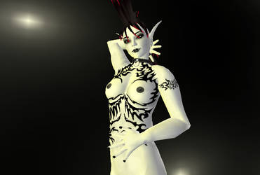 Second Life: Avatar Tattoo 09 by Airethilien