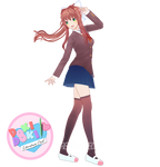 YYB Monika Model REMAKE [UPDATED]
