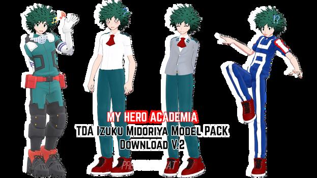 BNHA Tda Izuku Midoriya Model PACK Download V.2