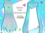 MMD Styled Hair Textures Download!