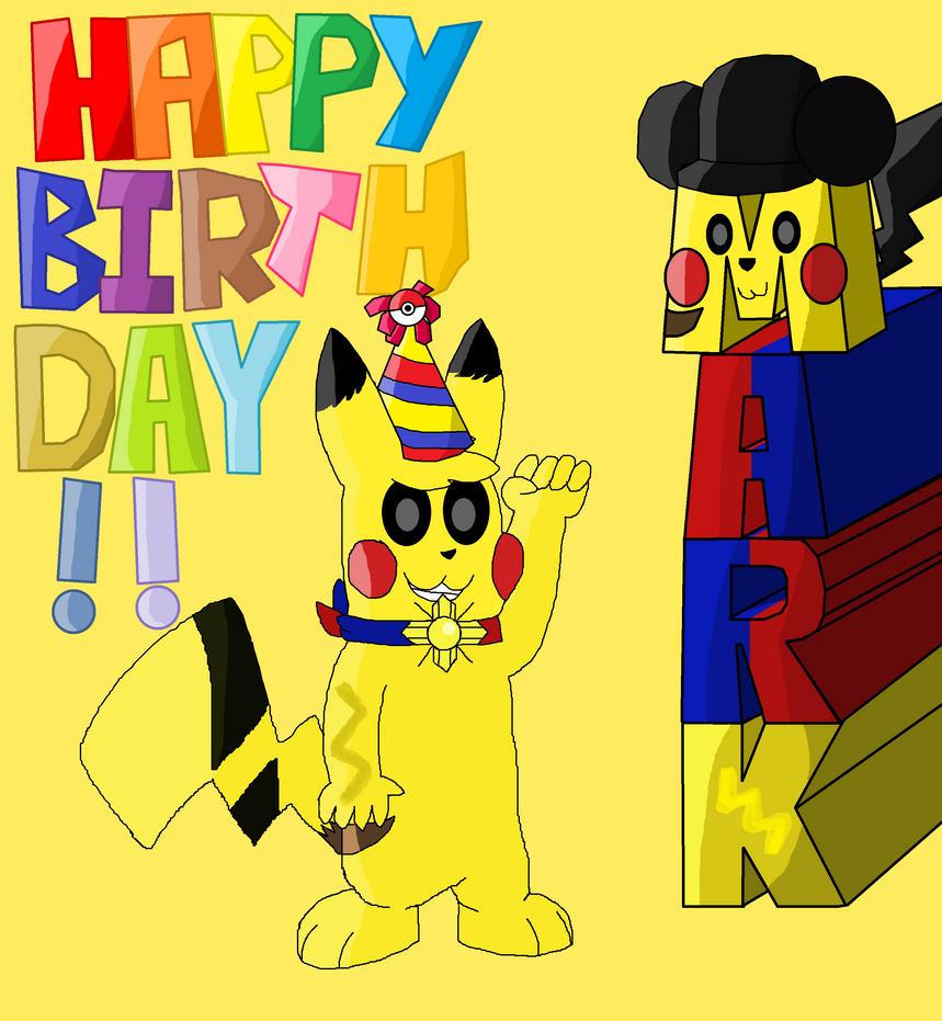 Mark's Birthday Present by Koshi5