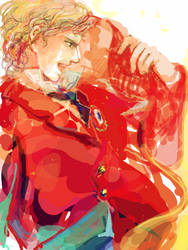 Enjolras by SnowSheepSleep