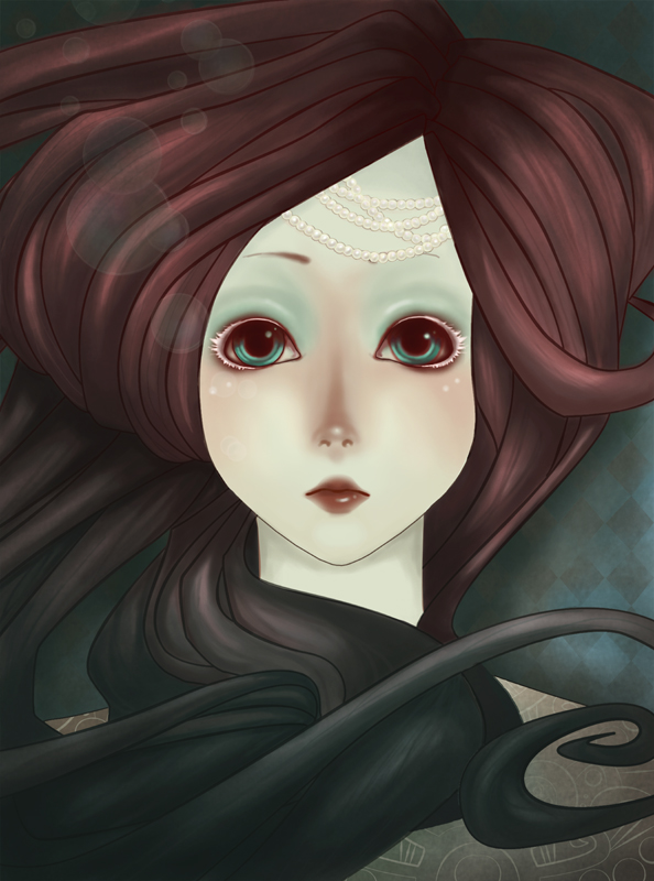 Little Mermaid by K-i-s-s-h-u