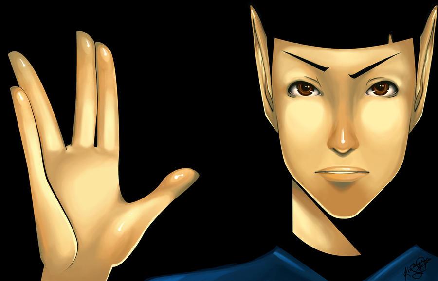 Mr. Spock by K-i-s-s-h-u