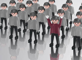 ARMY OF PLAYMOBIL by pipov