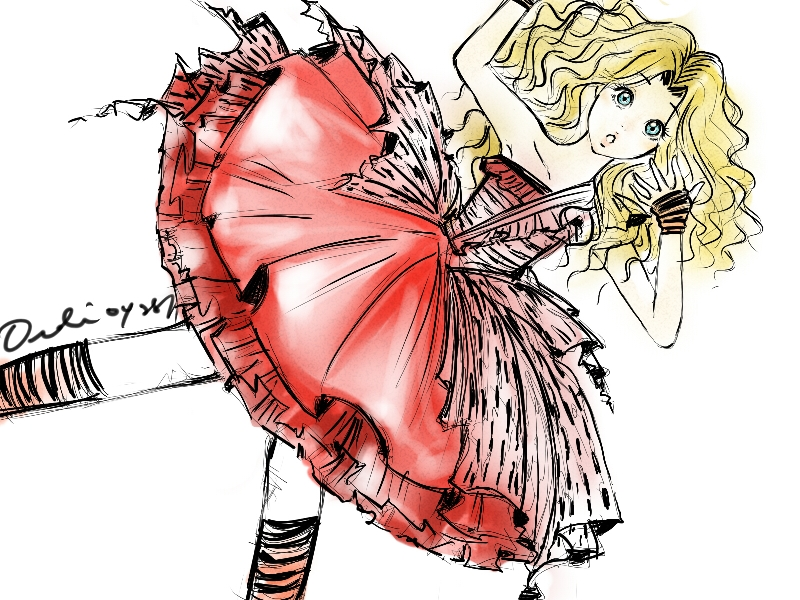 Alice in Wonderland 1 by Kei-Koo