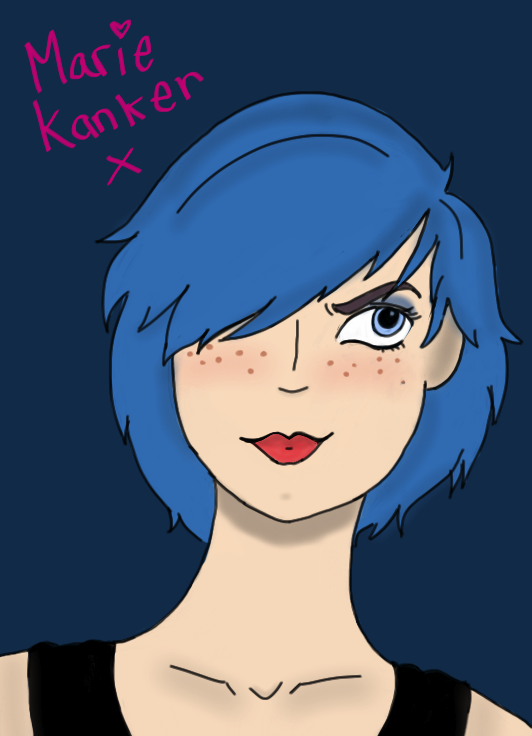 Marie Kanker Portrait by AskMarieKanker