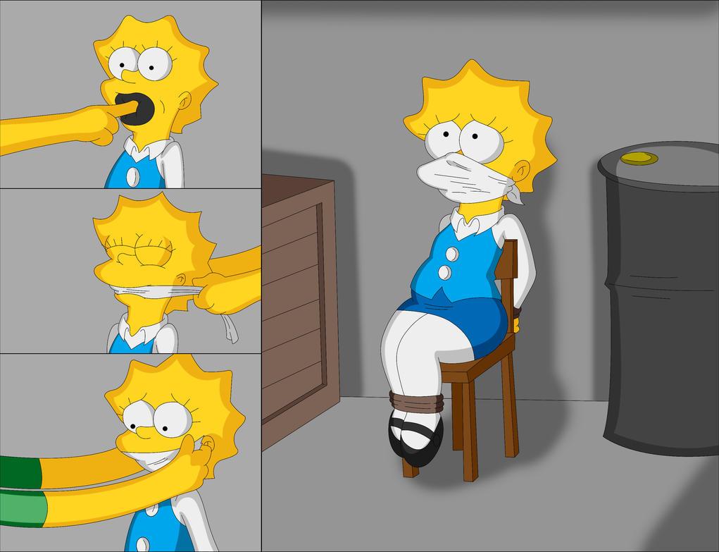 Lisa gagged by Reimon-Master-II