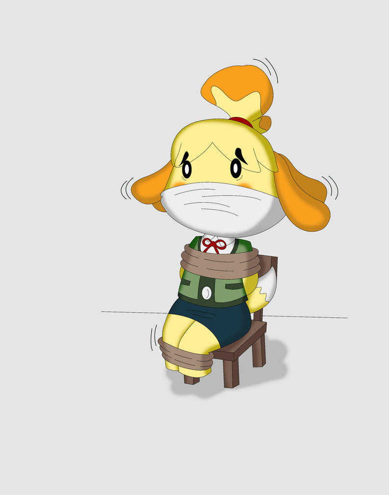 Isabelle from animal crossing (commission) by Reimon-Master-II