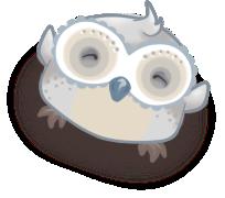 Henrik the Owl: Dancing by Auberginer