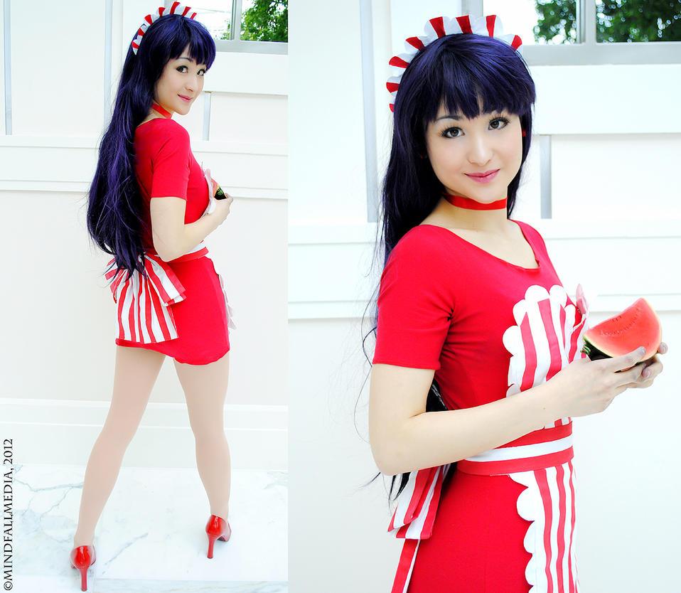 Sailor Mars Maid - Sailor Moon by Mostflogged