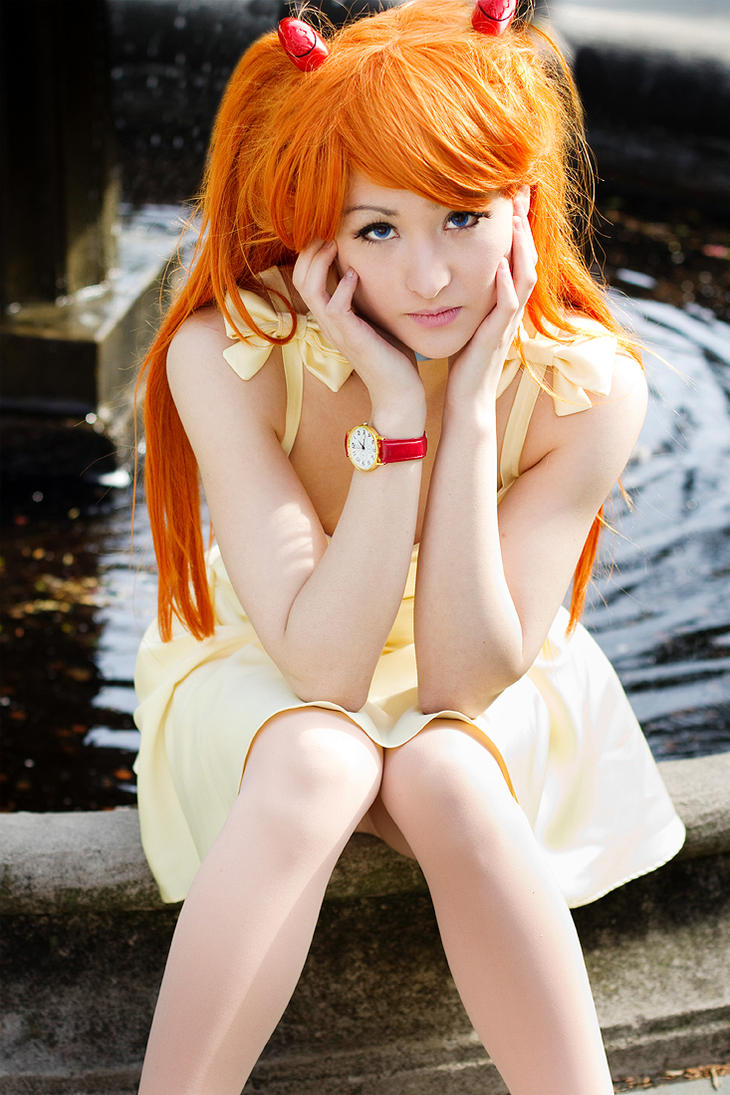 Sundress Asuka - Evangelion by Mostflogged
