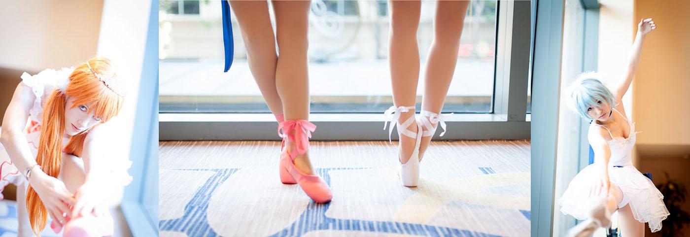 Ballet Girls - Neon Genesis Evangelion by Mostflogged