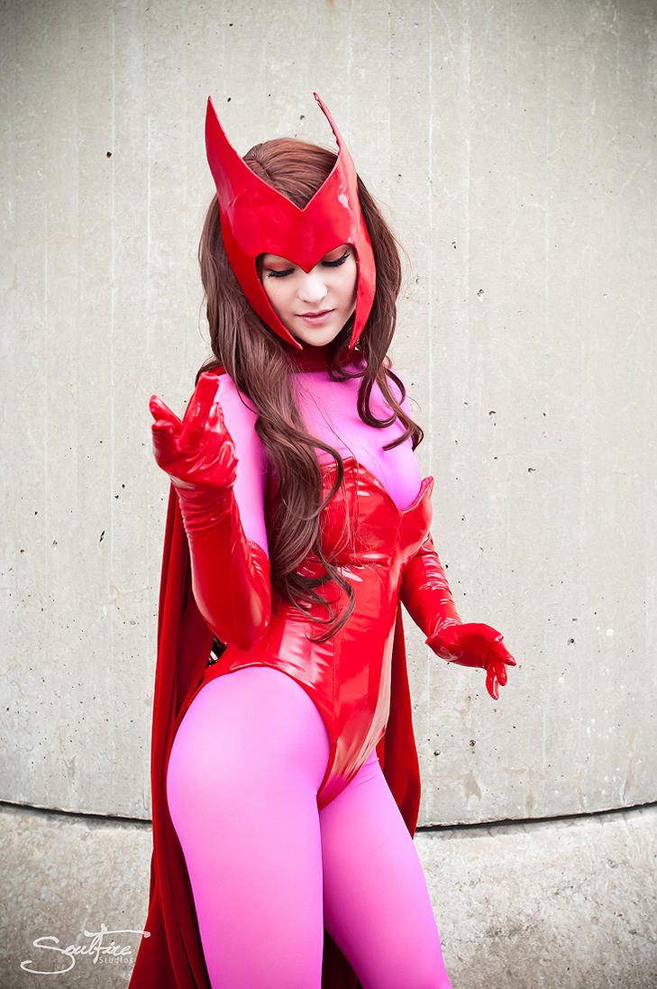 Spell Caster - Scarlet Witch by Mostflogged