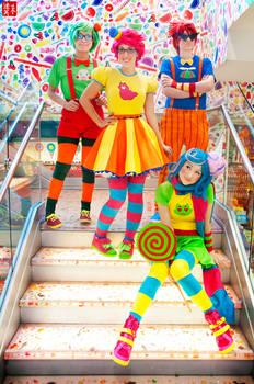 Trickster Alpha Kids - Homestuck