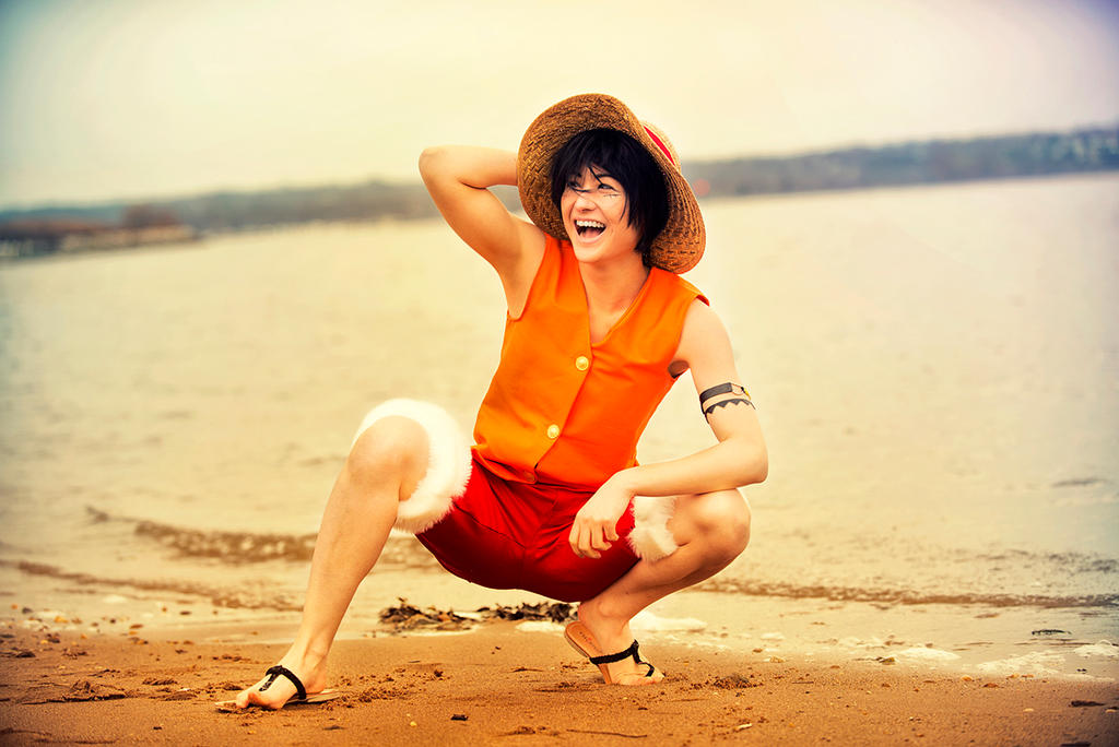 Monkey D. Luffy - One Piece by Mostflogged