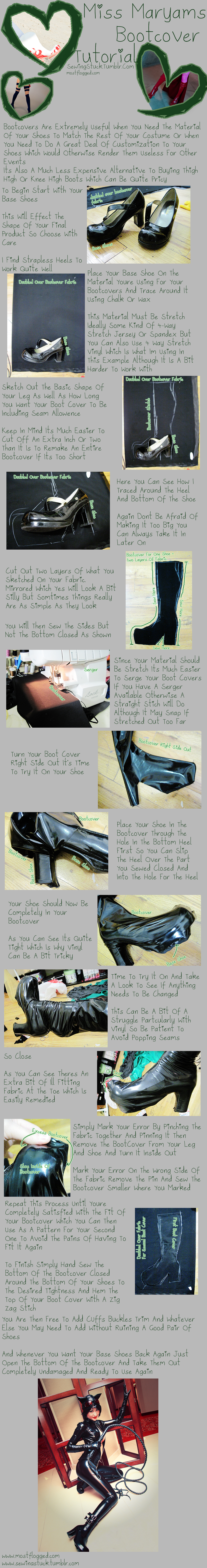 Sewingstuck - Bootcover Tutorial
