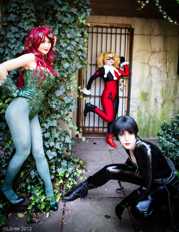 Gotham Sirens - Batman by Mostflogged