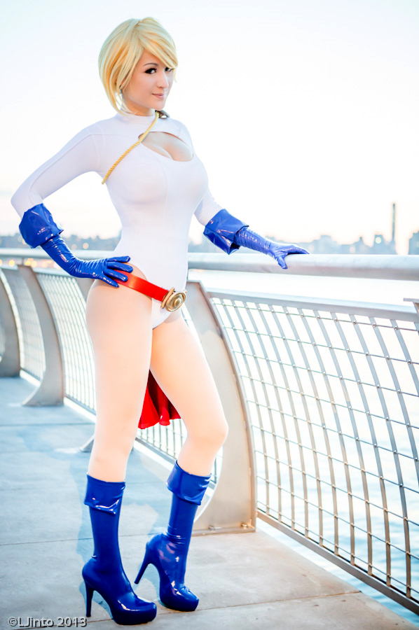 Power Girl - DC Comics by Mostflogged