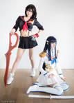 Ryuko and Satsuki - Kill la Kill