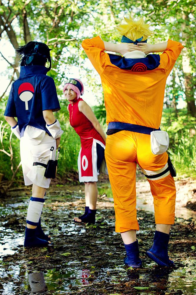 Team 7 - Naruto by Mostflogged