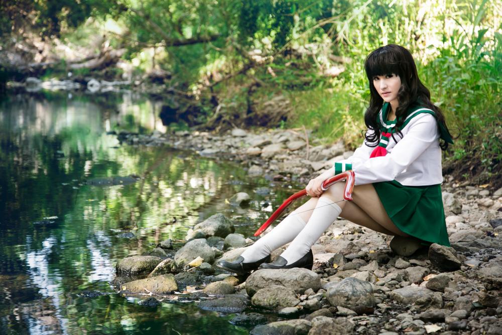 Kagome Higurashi - Inuyasha by Mostflogged