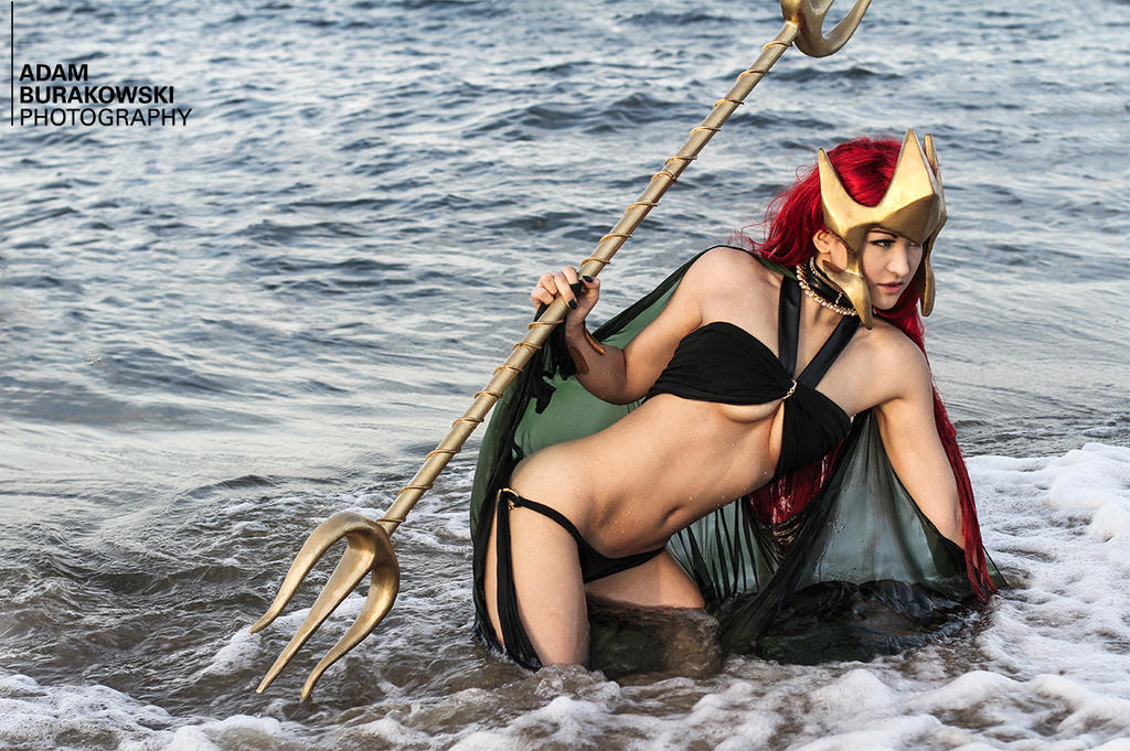 Queen Mera - Aquaman by Mostflogged